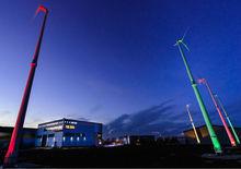 5kw school use low noise IEC61400-2 standard small wind generator