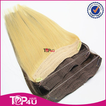 New arrival top quality 100% full cuticle remy european flip in hair