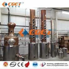 Best quality ethanol equipment vodka alcohol making equipment stainless steel distillation equipment ethanol distiller