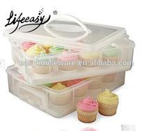 large rectangular cup cake carrier
