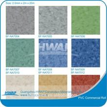 PVC Commercial Flooring / Vinyl Flooring Roll in 2.0mm*2.0m*20m