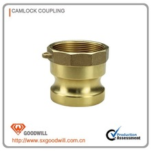 brass camlocks male adapter with female thread