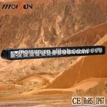 single row offroad ligh bar, 180w high brightness led work light cover, led light bar cover