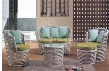 green garden rattan sectional sofa modern home design