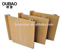 nuovo prodotto 2015 costruzione di edifici casa moderna rivestimenti esterniin legno di teak decking per la decorazione