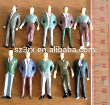 custom made miniature people men workers,custimize plastic miniature people figurine
