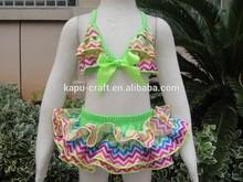 2015Wholesale bikini,swimsuit coverup ,thongs for girls 10years