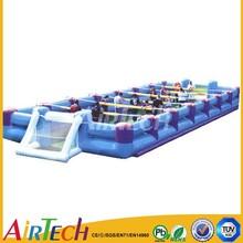 Large inflatable football training dummy,inflatable football pitch,football court for sale.