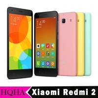 "Xiaomi Redmi 2 Hongmi 2 4G FDD LTE WCDMA Android 4.4 1G RAM 4.7"" IPS Red Rice 2 Smartphone"