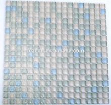New design crystal glass tile mosaic, glass bathroom wall tiles