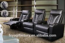 Leather Reclining Sofa & Love Seat Living Room Set YA-613A