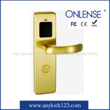 Deluxe brass rf door lock for star hotels in 2015