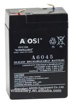 Rechargeable vrla agm 4v 2ah sealed lead acid battery