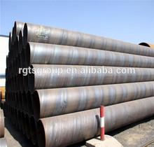 API 5L Gr.B spirally welded pipe
