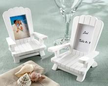 Beach Memories Miniature Adirondack or Muskoka Chair Place Card and Photo Frame