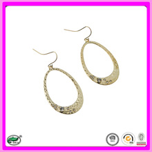 2015 new design fashion open finding pendant gold earring