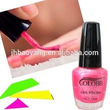 water-based nail polish with 15ML bottle very hot selling nail polish