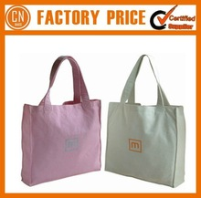 2015 Wholesale Tote Bags Factory Sale Canvas Tote Bag Blank