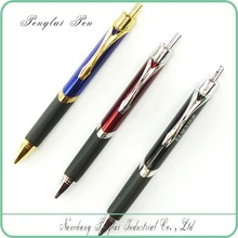 Promotional click Metal triangle pen of triangle barrel