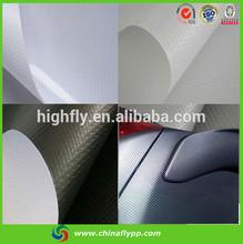 FLY china supplier vinyl film for car auto carbon fiber car wrap vinyl film