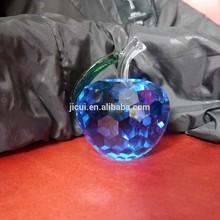 beauty crystal apple ,crystal gift ,crystal Christmas Gift