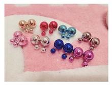2015 Fashion Charm Lastest Designs Pearl Magnetic Earrings