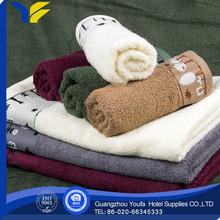 twill Guangzhou terry cloth popular organic cotton cut velvet wedding towel