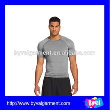 china wholesale gym tshirt custom dry fit absorbent tshirt for men