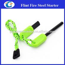 Outdoor Survival Fire Stick Flintstone Magnesium Camping Tool