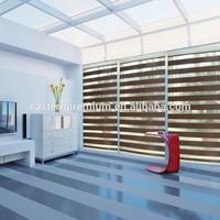 New Design Home Decoration Window Customized Manual Fabric Zebra Blinds