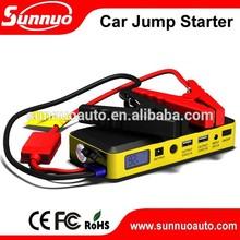 UL AC adaptor High Emergency 14000mAh Power Bank Car Jump Starter Booster Packs