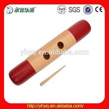 De madera de percusión guiro orff, venta al por mayor de madera tw40 guiro