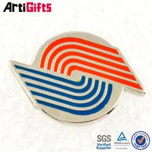 promotional zinc alloy football helmet badge