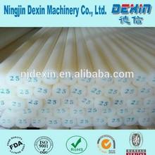 High quality exturded Nylon rod, natural nylon brod/ PA6 plastic nylon bar supplier