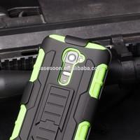 2015 NEW Arrival IN STOCK!,Belt Clip Holster Rugged Hybrid Hard Cover Case For LG G2 D801 D802 Mobile Phone Case