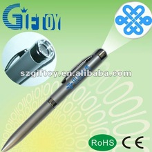 Shenzhen Supplier Blue Projector Pen /Led Gift Pen
