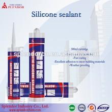 Splendor SA4000 General purpose fast cure transparent/white silicone sealant