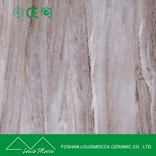 600*600mm cheap price matte non-slip glazed wood porcelain white horse ceramic floor tile