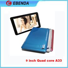 9inch Allwinner A33 Quad Core long time sex tablets
