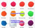 Pigmento fluorescente utilizado en la pintura, la tinta de impresión