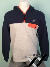 China wholesale cheap custom pullover hoodie with matching design for men