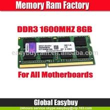 Easybuyram 5 years warranty 512mb*8/16c 8gb ddr3 ram accept paypal