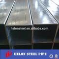 Ms cuadrados/rectangular de acero hueco sección de la tubería/tubo