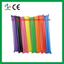 Various color Inflatable stick,inflatable noise sticks