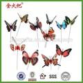 vivo de la mariposa de metal flor de palos de la decoración de jardín para la venta