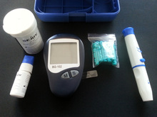 3 in 1, Blood Glucose, Uric Acid, Cholesterol Meter