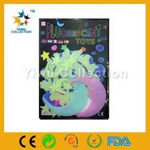 conference gift plastic glow wall sticker,mirror sticker halloween decoration,reflective sticker