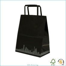 custom printed foil handmade shopping paper bag designs with logo print