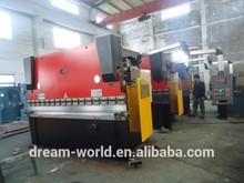 Cnc hydraulique métal machine de pliage / pliage de métal machine / feuille frein presse