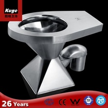 Stainless steel china float tank toilet